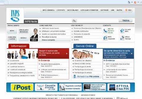 Procedura di regolarit contributiva online sul sito inps for Inps servizi per aziende e consulenti