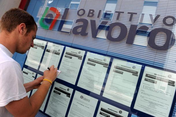 disoccupati nell'area OCSE