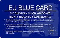 Procedura telematica per richiedere la Carta blu UE