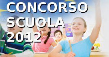 miur concorso scuola 2012