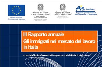 Rapporto immigrati 2013