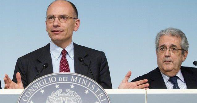 Legge di Stabilità 2014 Letta Saccomanni