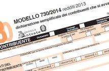 730 2014 redditi 2013