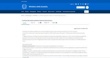 certificato penale antipedofilia