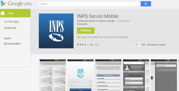 Nuova app inps servizi mobile lavoro e diritti for Inps servizi per aziende e consulenti