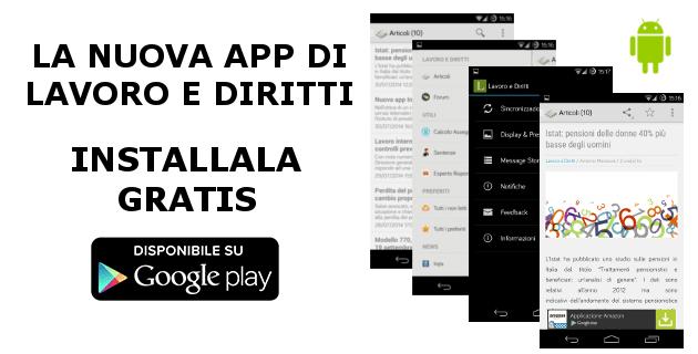 App Lavoro e Diritti per Android