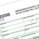 CU, certificazione Unica 2015 (ex CUD e ex Certificazione dei Compensi)