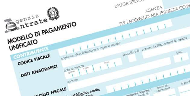 F24 novit dal 1 ottobre lavoro e diritti for Pagamento f24