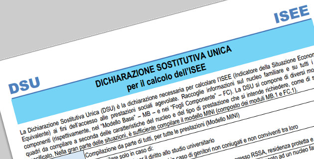 Nuovo ISEE 2015