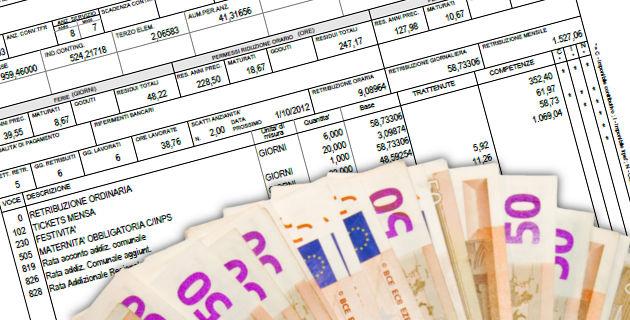 Busta paga TFR euro