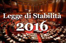 Senato, Legge di Stabilità 2016