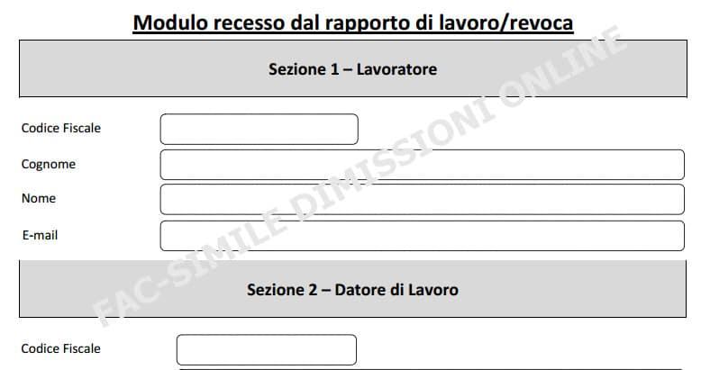 Dimissioni online, invio cartaceo per servizio temporaneamente bloccato