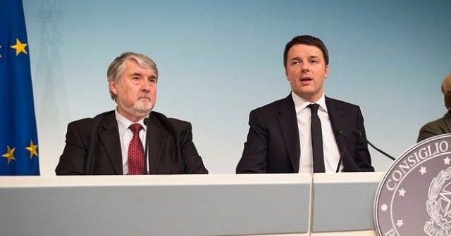 Presidente del Consiglio Renzi e Ministro del Lavoro Poletti
