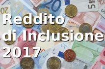 Reddito di inclusione 2017