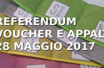 Referendum su voucher e appalti