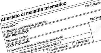 Rientro anticipato dalla malattia, obbligo di rettifica del certificato