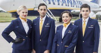 Ryanair assume assistenti di volo: Tutti i requisiti e le date