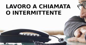 Il contratto di lavoro a chiamata o intermittente