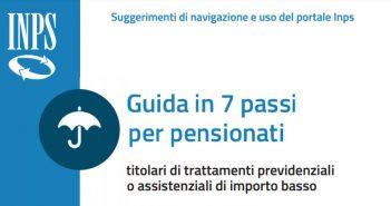 Pensioni INPS, la guida in 7 passi ai diritti dei pensionati