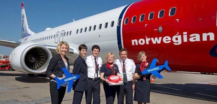 Assunzioni Norwegian Air: 100 posizioni lavorative a Fiumicino