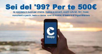 18App, il bonus cultura di 500 euro sbloccato anche per i nati nel 1999