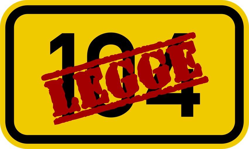 legge 104/92 da