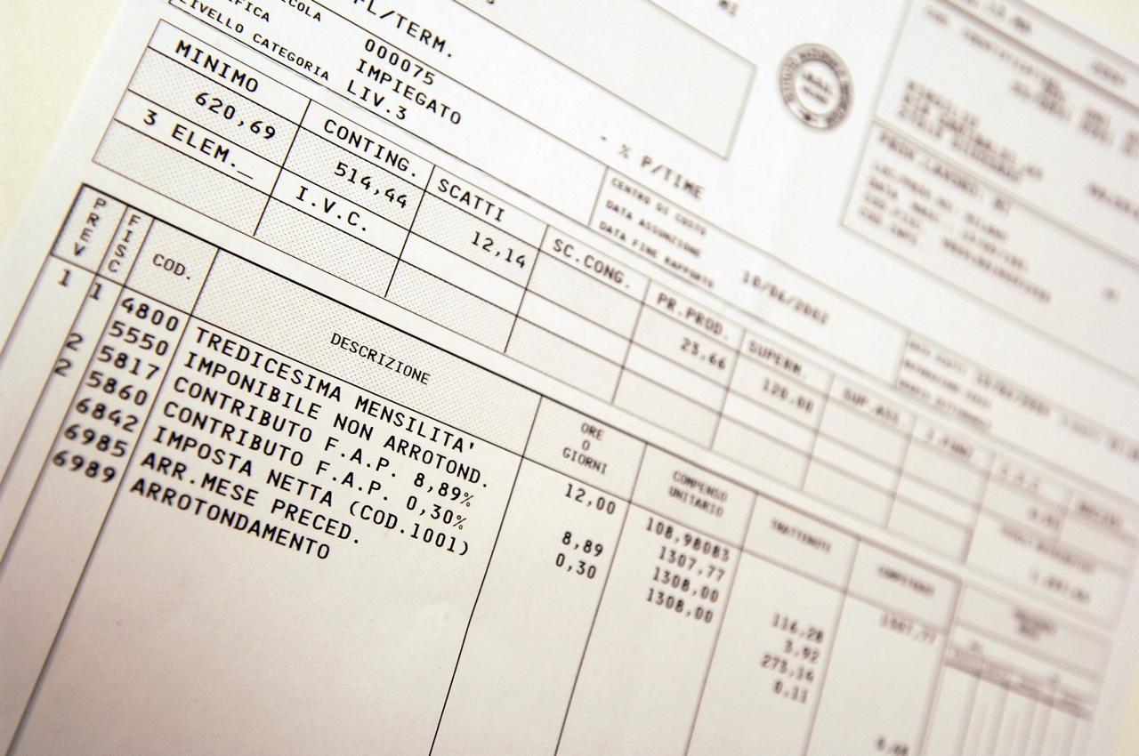 Come leggere la busta paga le mensilit aggiuntive for Come leggere la costruzione di progetti