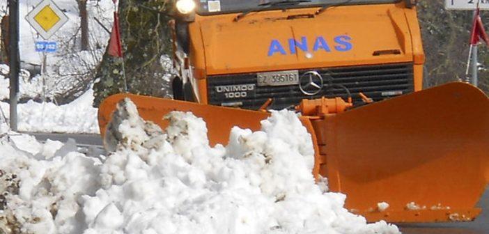 Assunzioni ANAS: Operatori Sgombero Neve