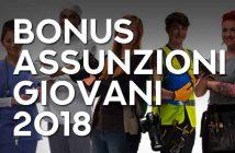 Bonus Assunzioni Giovani 2018, nuovo sgravio contributivo INPS