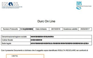 Rottamazione cartelle bis e rilascio del Durc INPS regolare