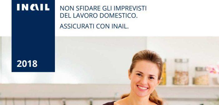 Assicurazione casalinghe 2018 INAIL, in scadenza il 31 gennaio