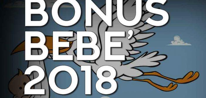 Nuovo bonus bebè INPS 2018, via libera alle domande