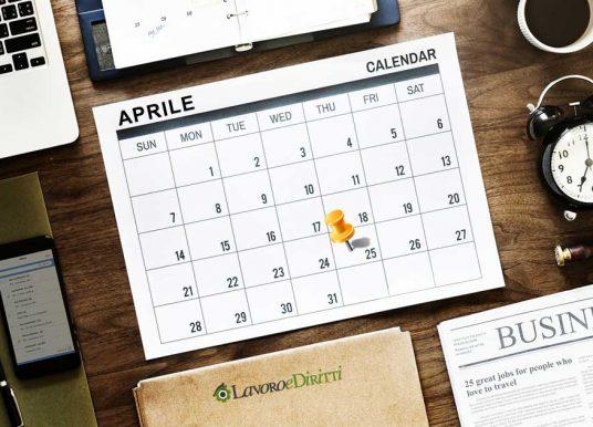 Festività del 25 aprile 2019 in busta paga: ecco quanto spetta