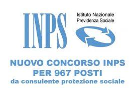 Concorso per 967 funzionari INPS: pubblicato il diario della prova preselettiva