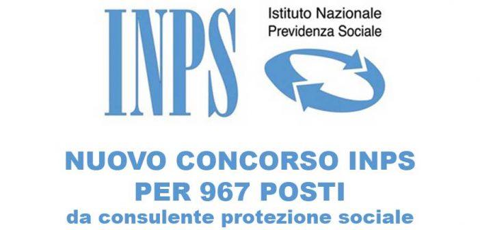 Concorso INPS per 967 funzionari: pubblicato il diario delle prove scritte