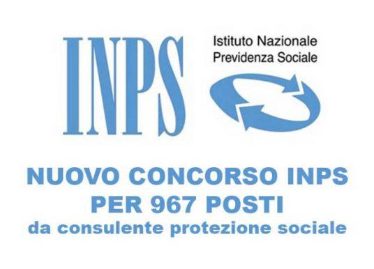 Concorso INPS 967 posti: valutazione titoli conseguiti all'estero