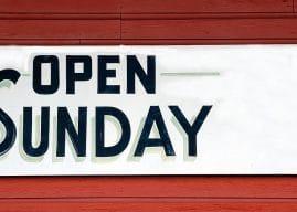 Lavoro domenicale: istruzioni per l'uso