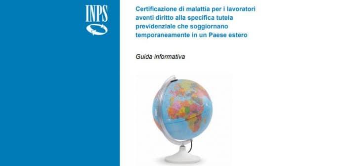 INPS: malattia all'estero