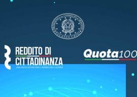 Reddito e pensione di cittadinanza e Quota 100: sintesi del decretone