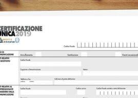 Sanzioni Certificazione Unica 2019 omessa, tardiva o errata