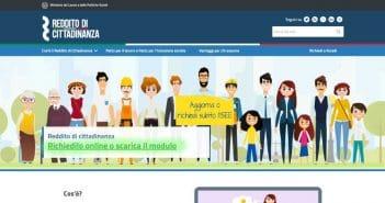 Domanda di Reddito di cittadinanza online