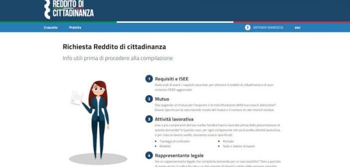 Come fare la domanda di Reddito di Cittadinanza online