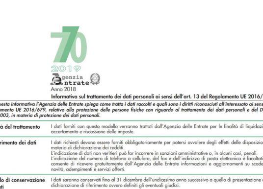 Modello 770/2019: scadenza, istruzioni e novità