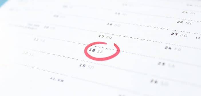 Ponti lavorativi e giorni festivi del 2020