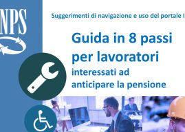 Come andare in pensione in anticipo: la guida in 8 passi dell'INPS