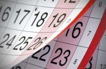 Calendario pagamento pensioni