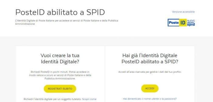 SPID Poste Italiane