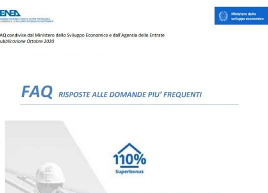 Superbonus 110%, FAQ ENEA: nuovi chiarimenti sulle detrazioni fiscali