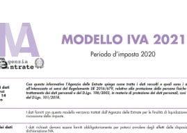 Dichiarazione Iva 2021, istruzioni e modello: novità Agenzia delle Entrate
