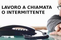 lavoro intermittente o a chiamata